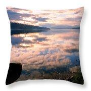 Pend Oreille Reflections Throw Pillow