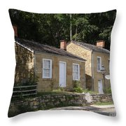 Pendarvis Houses Summer Throw Pillow