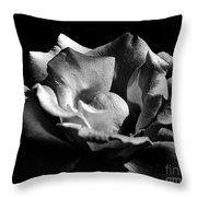 Penetrating The Rose Throw Pillow