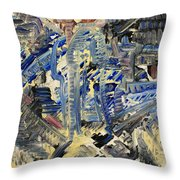Penetration Throw Pillow by Michael Kulick