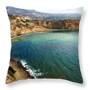 Peninsula Cove Throw Pillow