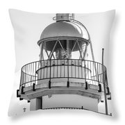 Peniscola Lighthouse Of Spain Throw Pillow