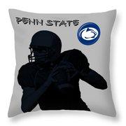 Penn State Football Throw Pillow