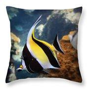 Pennant Coralfish Throw Pillow