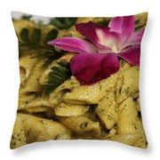 Penne Pasta Dish Throw Pillow