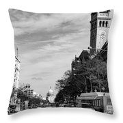 Pennsylvania Avenue Throw Pillow