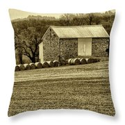 Pennsylvania Barn Throw Pillow