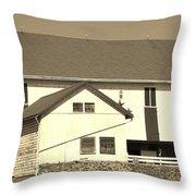 Pennsylvania Barn Throw Pillow