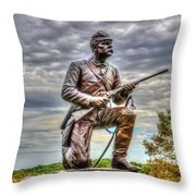 Pennsylvania Cavalry - Culps Hill Throw Pillow