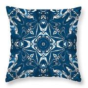 Pennsylvania Dutch Kaleidoscope Throw Pillow