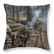 Pennsylvania Hunter Throw Pillow by Randy Steele