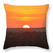 Pennsylvania Sunrise Throw Pillow