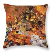 Penny And A Cigarette Throw Pillow