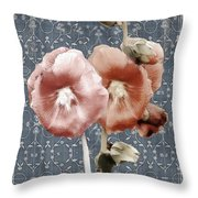 Penny Postcard Bombay Throw Pillow
