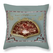Penny Postcard Formal Throw Pillow