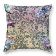 Penny Postcard Tiffany Throw Pillow