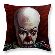 Pennywise 2 Throw Pillow