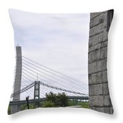Penobscot Narrows Throw Pillow