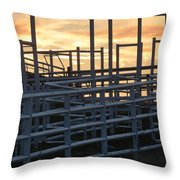 Pens And Chute Throw Pillow