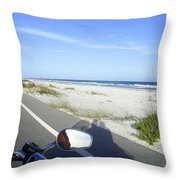 Pensacola Ride Throw Pillow