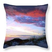 Pensacola Sunset After The Storm Throw Pillow