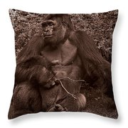 Pensive Throw Pillow