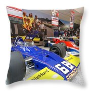 Penske Room In Indy Throw Pillow