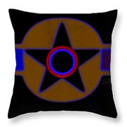 Pentagram Throw Pillow