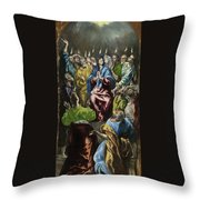 Pentecost Throw Pillow