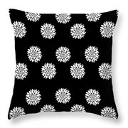Peony Rose Throw Pillow