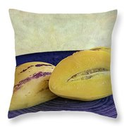 Pepino Melon Throw Pillow