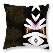 Pepitas Oriental Art Throw Pillow