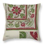 Pepperberry Quilt Throw Pillow
