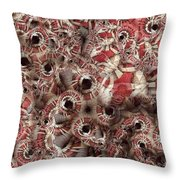 Peppermint Swirl Throw Pillow