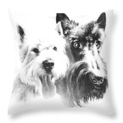 Pepsi And Max Throw Pillow