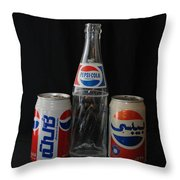 Pepsi Cola Throw Pillow
