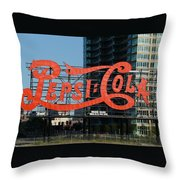 Pepsi-cola Throw Pillow