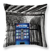 Pepsi Generation Palm Springs Throw Pillow