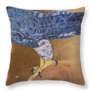 Peragrine Falcon Throw Pillow