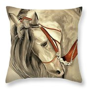 Peralta Andalucian Throw Pillow