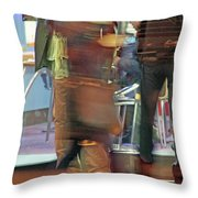 Perambulatin' Throw Pillow