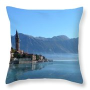 Perast Throw Pillow