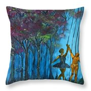 Perception Vs Reality Throw Pillow