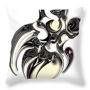 Perceptive Formation Throw Pillow