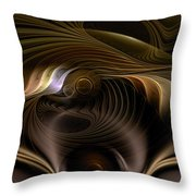 Perceptual Flux Throw Pillow