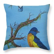 Perched 2 Throw Pillow