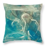 Percussionist Throw Pillow