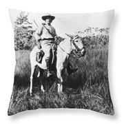 Percy Harrison Fawcett Throw Pillow