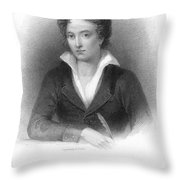 Percy Shelley (1792-1822) Throw Pillow