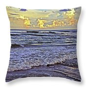 Perfect Beach Evening No.3 Throw Pillow